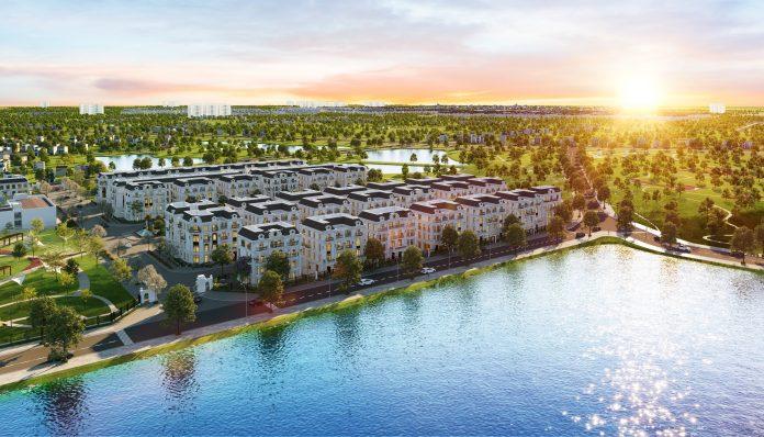 Phối cảnh tổng thể dự án Elegant Park Villa Thạch Bàn