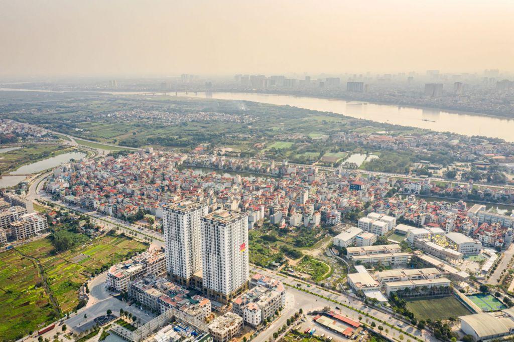 Tầm nhìn Panorama Sông Hồng cực kì đẳng cấp