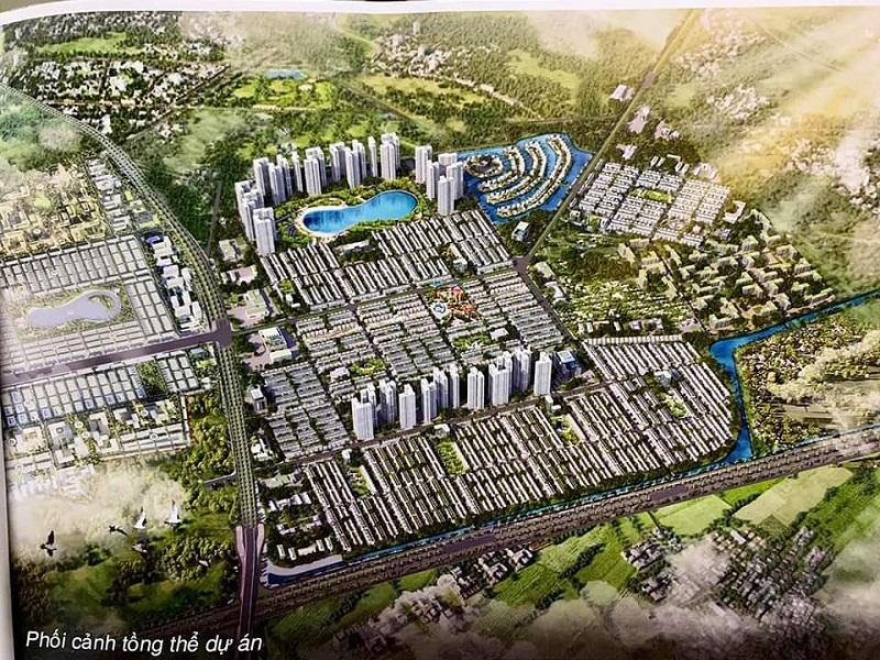 phối cảnh 800ha Vinhomes cạnh dự án Dragon Park Văn Giang