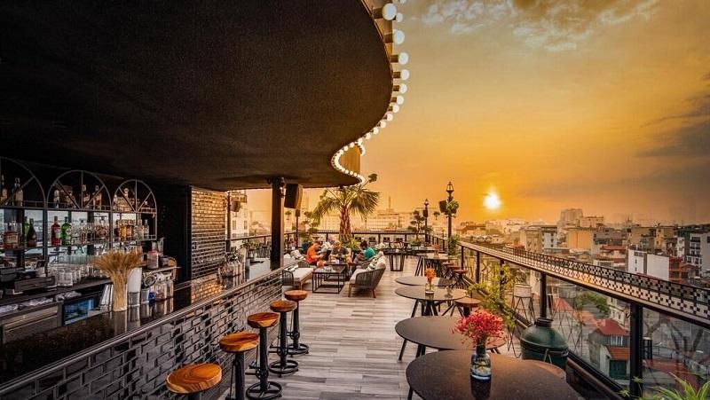 phối cảnh quán cafe dự án shunshine phúc đồng