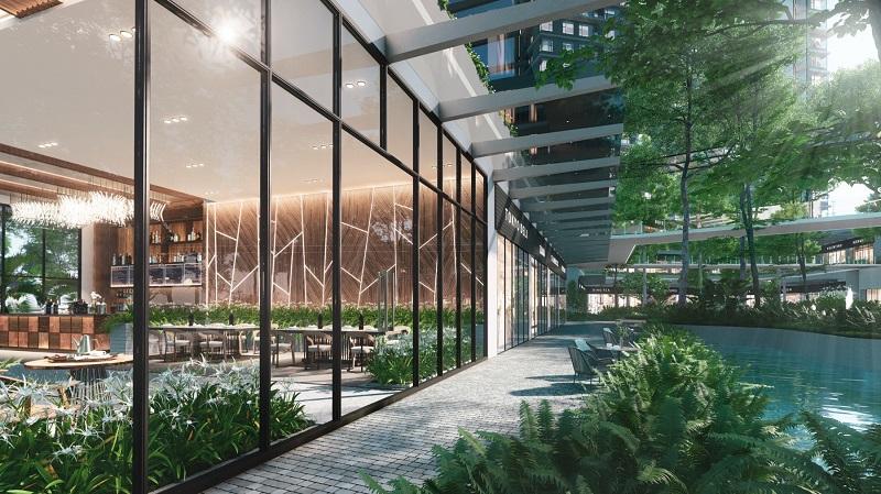 tiện ích nội khu dự án Haven Park
