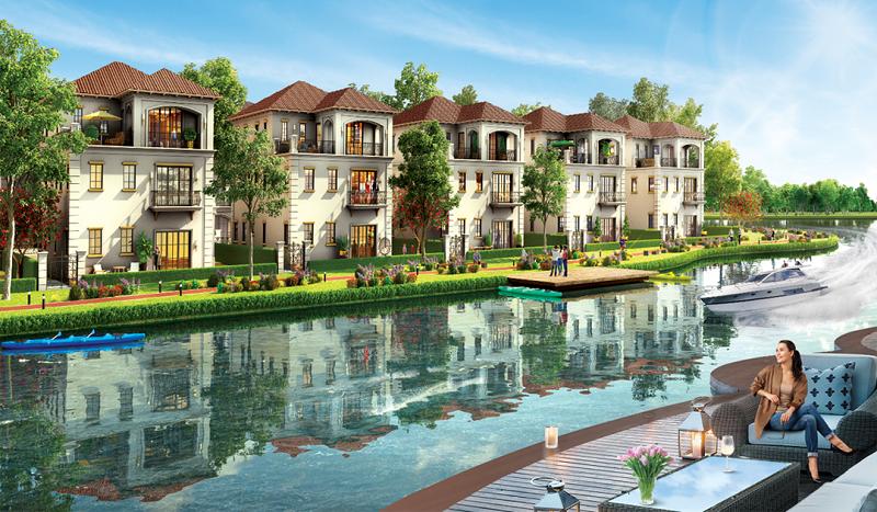 biệt thự ven sông khu đô thị sinh thái Xuân Cầu Văn Giang