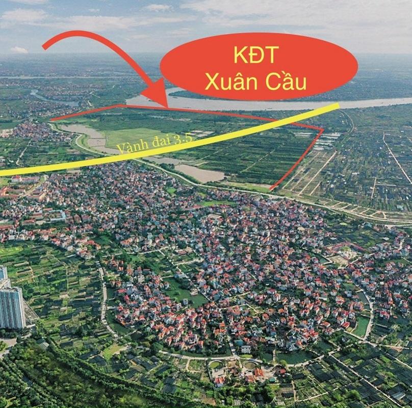 Kết nối khu đô thị Xuân Cầu Văn Giang
