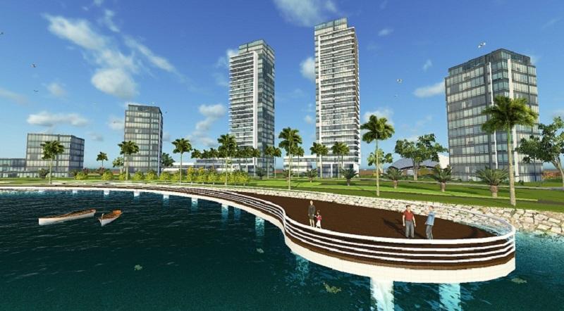 Không gian xanh khu đô thị sinh thái Xuân Cầu Văn Giang