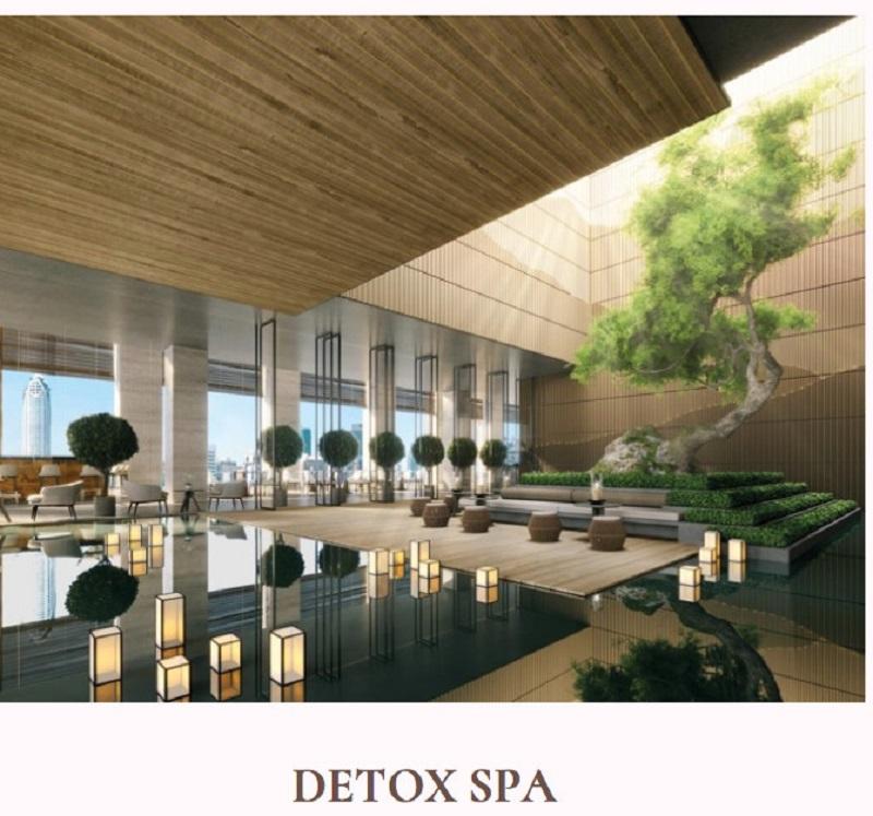 Tiện ích 7 căn hộ khoáng nóng Onsen Ecopark