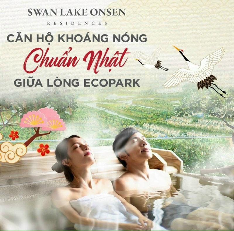 căn hộ khoáng nóng chuẩn Nhật Swanpark Onsen ecopark