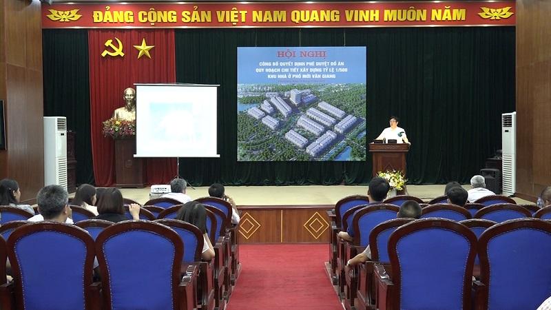 hội nghị khu nhà ở phố mới Văn Giang