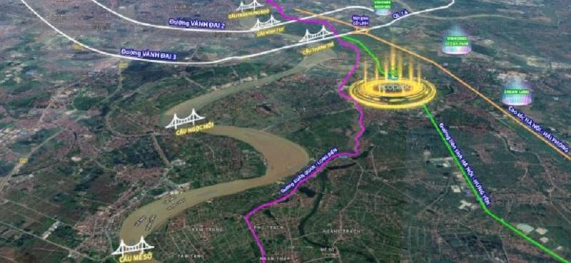 kết nối giao thông đồng bộ khu vực văn giang