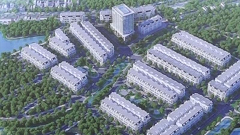 khu nhà ở phố mới Văn Giang