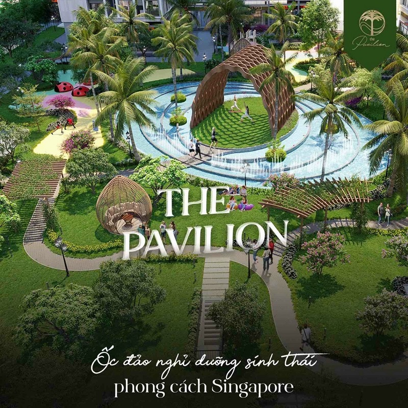 Phân khu The Pavilion Vinhomes Ocean Park - Đa Tốn - Gia Lâm