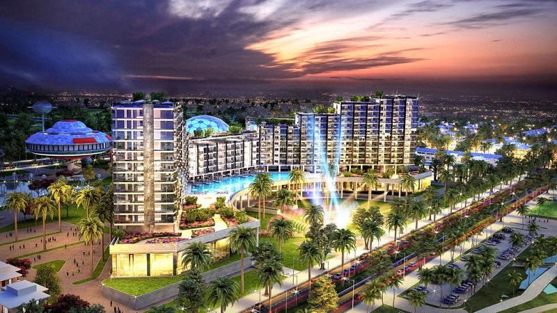 Phối cảnh Vlasta Văn Phú Invest - Nam Sầm Sơn - Thanh Hóa