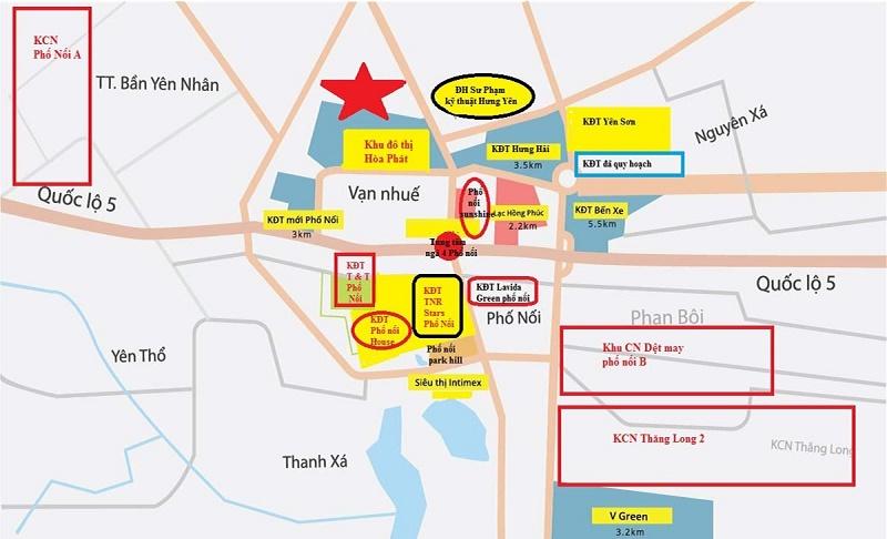 Liên kết vùng khu đô thị Hòa Phát - Phố Nối - Hưng Yên 2