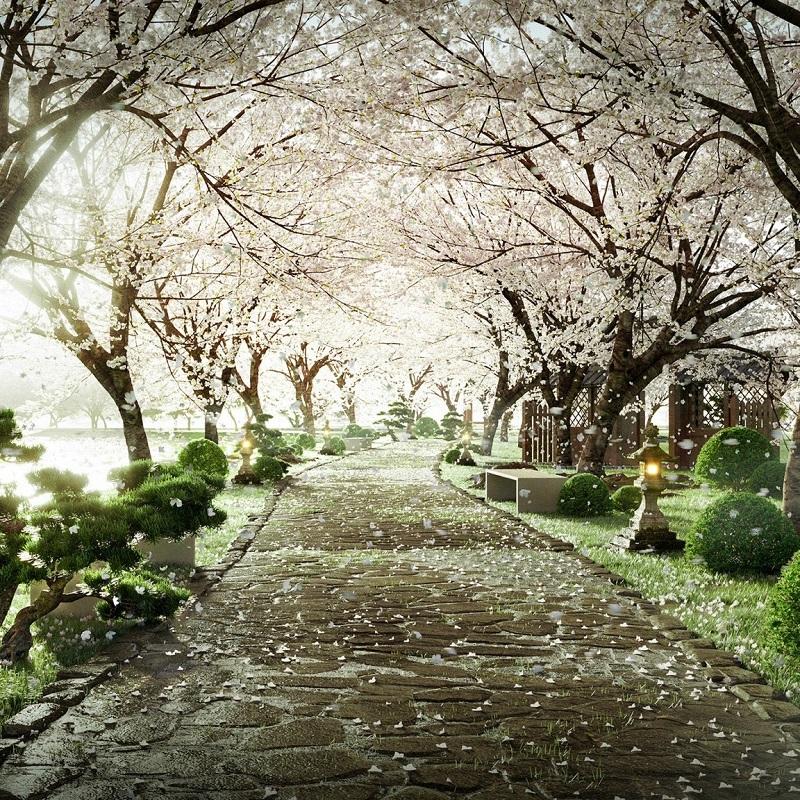 Phối cảnh 3 vườn Nhật tại tổ hợp khoáng nóng Landmark Ecopark