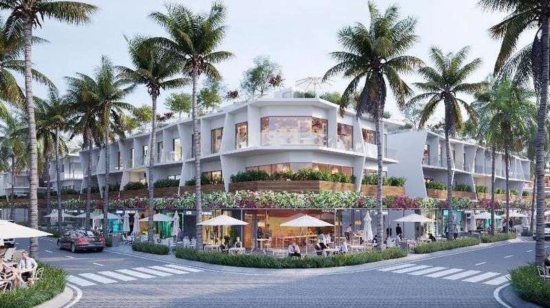 Phối cảnh Shophouse dự án Vlasta Nam Sầm Sơn