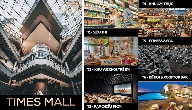 Phối cảnh trung tâm thương mại 102 Như Quỳnh