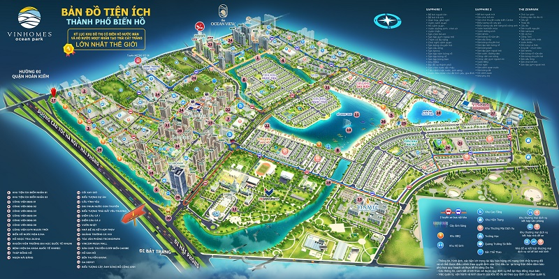 Thành phố biển hồ Vinhomes Ocean Park - Đa Tốn - Gia Lâm