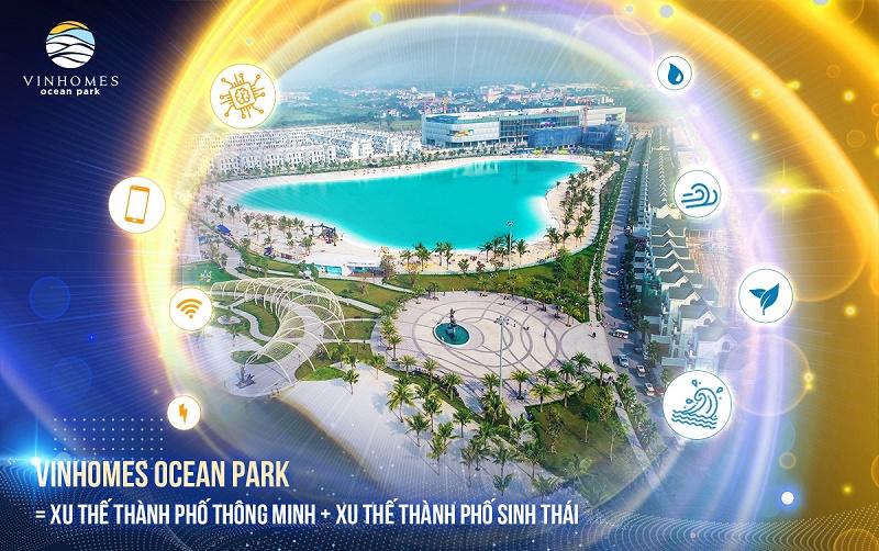 Thành phố biển hồ Vinhomes Ocean Park - Gia Lâm