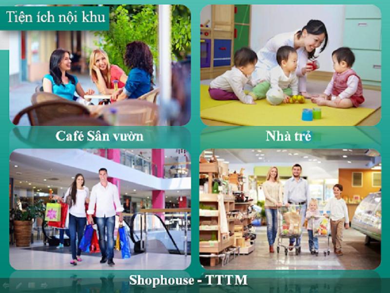 Tiện ích nội khu Shophouse Nguyễn Cao Luyện - Vạn Hạnh