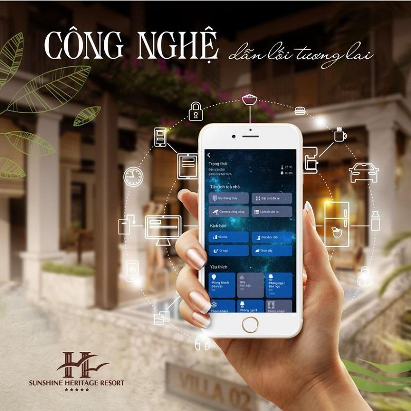 Công nghệ 4.0 Sunshine Heritage Hà Nội