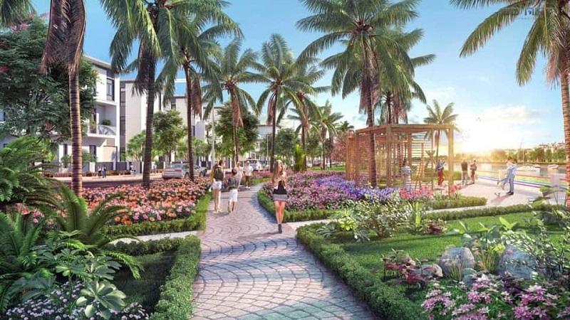 Đường dạo bộ dự án TNR Bỉm Sơn - Thanh Hóa