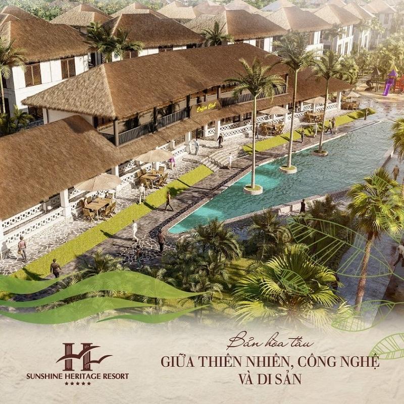 Resort Sunshine Heritage Cẩm Đình Phúc Thọ
