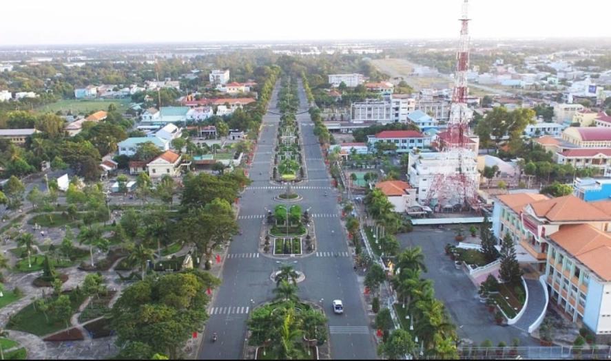 Văn Giang đang có tốc độ đô thị hóa nhanh chóng