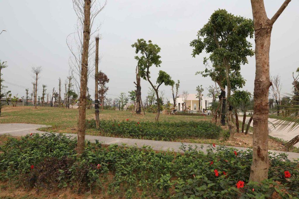 ảnh thực tế dự án Hud Mê Linh Central 5