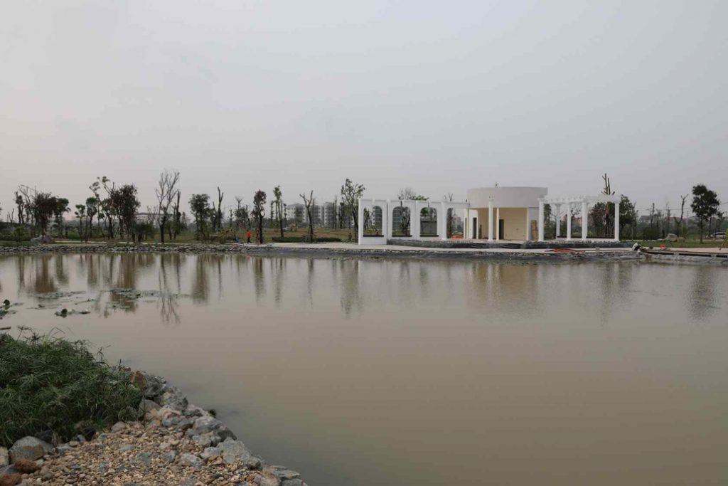 ảnh thực tế dự án Hud Mê Linh Central 3