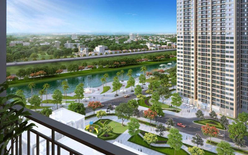 Phối cảnh chung cư Vinhomes Dream City Văn Giang Hưng yên