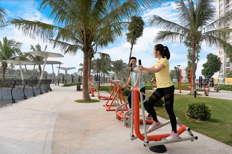 Công viên gym tại vinhomes ocean park gia lâm