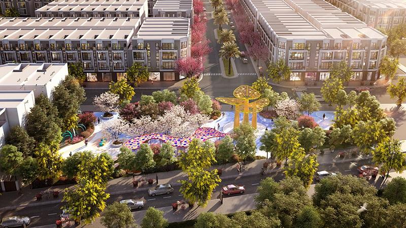 Phối cảnh quảng trường dự án TNR Stars Lam Sơn