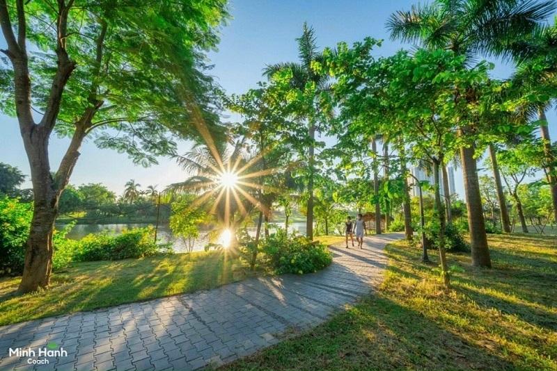 Cung đường dạo bộ quanh Hồ Thiên Nga Ecopark