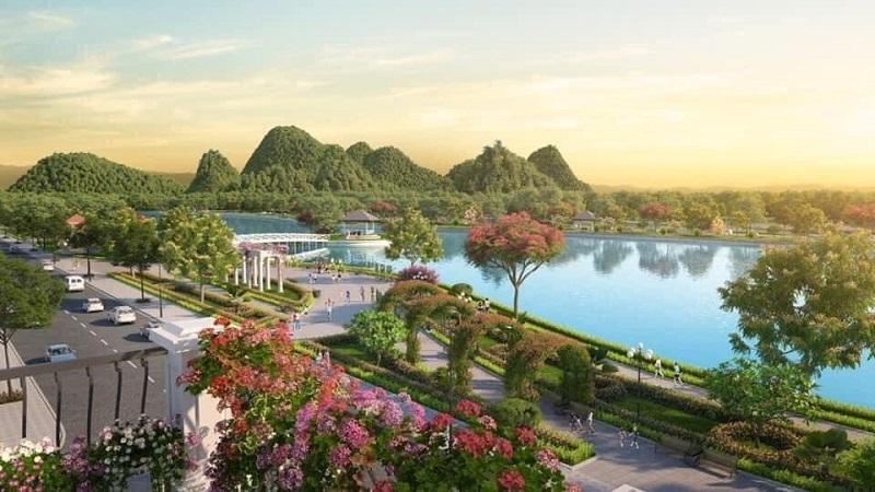 Cảnh quan Khu đô thị Phú Thứ Kinh Môn Hải Dương