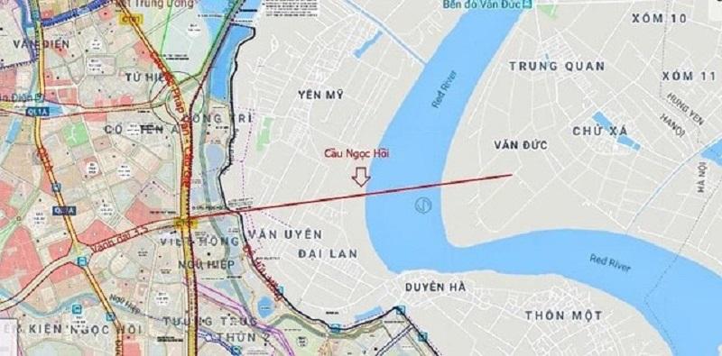 Đường vành đai 3.5 và cầu Ngọc Hồi sẽ nối thẳng Vinhomes Dream City với khu trung tâm phía Nam Hà Nội