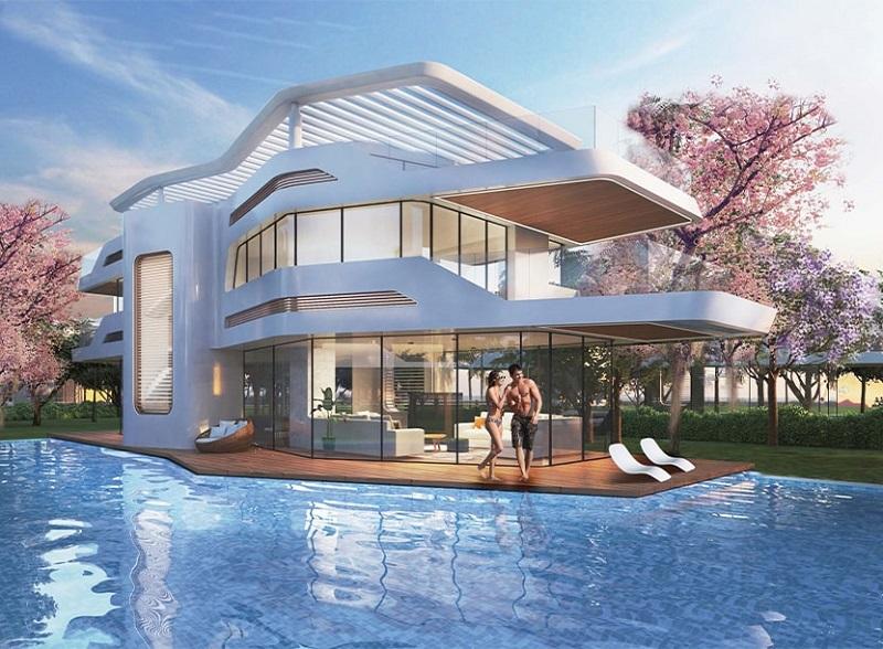 Phân khu Wonder Resort dự án Sunshine Heritage Cẩm Đình Phúc Thọ