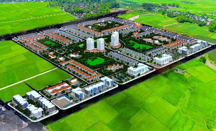 Khu đô thị mới Hud Mê Linh Ceatral