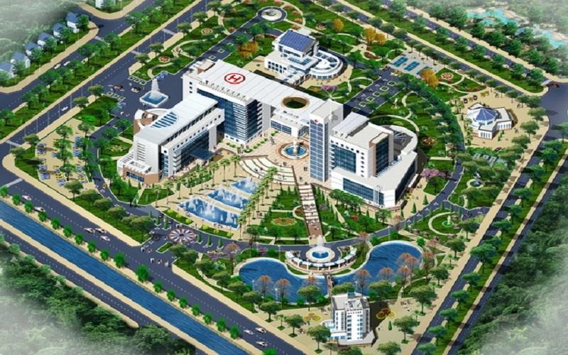 Bệnh viện 700 giường tại Khu đô thị mới Mỹ Trung - Nam Cường - Nam Định