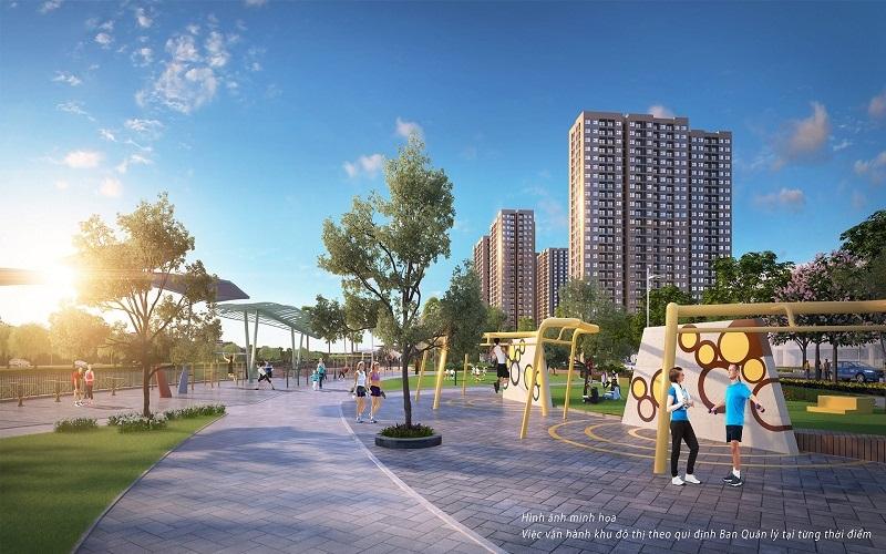 Phối cảnh công viên khu đô thị mới Mỹ Trung - Nam Định