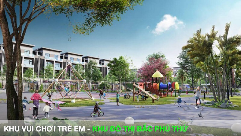Khu vui chơi trẻ em Khu đô thị Bắc Phú Thứ