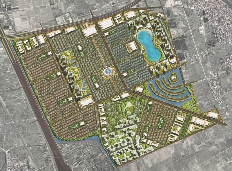 Mặt bằng tổng thể dự án Vinhomes Dream City Văn Giang