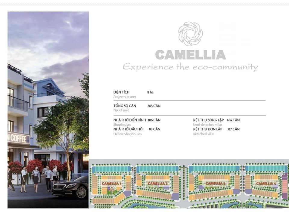 Tổng quan phân khu Camellia Eco garden Huế