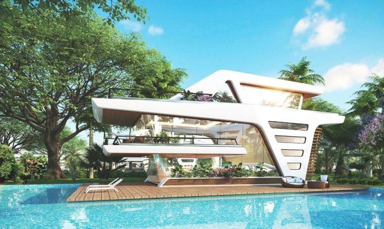 Phân khu Maldives Resortdự án Sunshine Heritage Phúc Thọ - Hà Nội