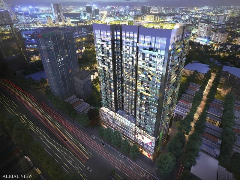 Phối cảnh chung cư vinaconex Green Diamon Building 93 Láng Hạ