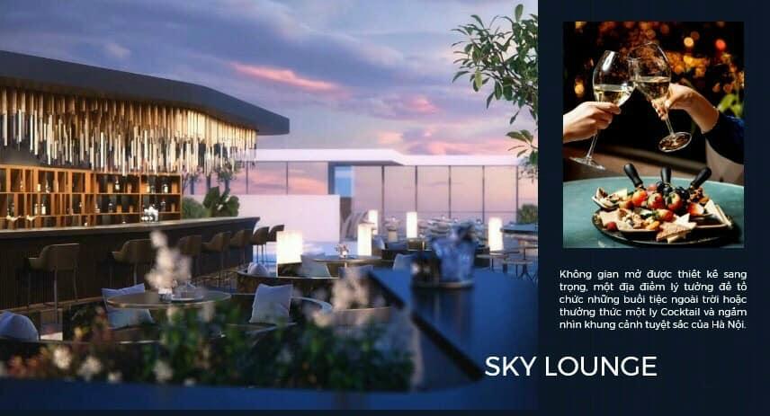Sky Lounge tại Lancaster Luminaire đường Láng
