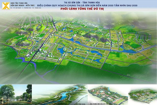 Quy hoạch Bỉm Sơn - Thanh Hóa