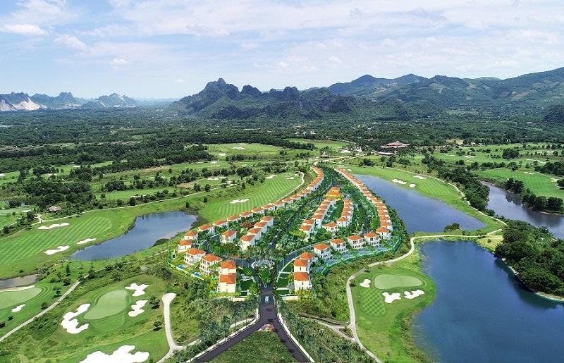 Phối cảnh dự án Wyndham sky lake  Resort Chương Mỹ