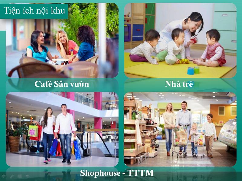 Tiện ích nội khu Khu đô thị mới Mỹ Trung - Nam Cường