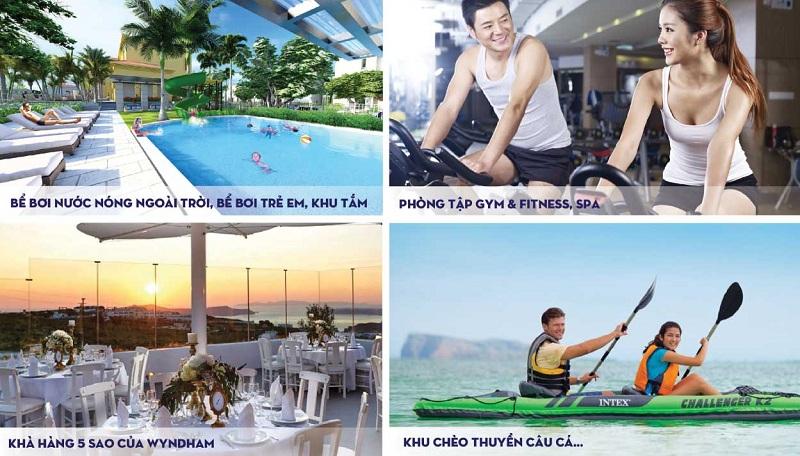 Tiện ích Wyndham Sky Lake Resort & Villas Chương Mỹ