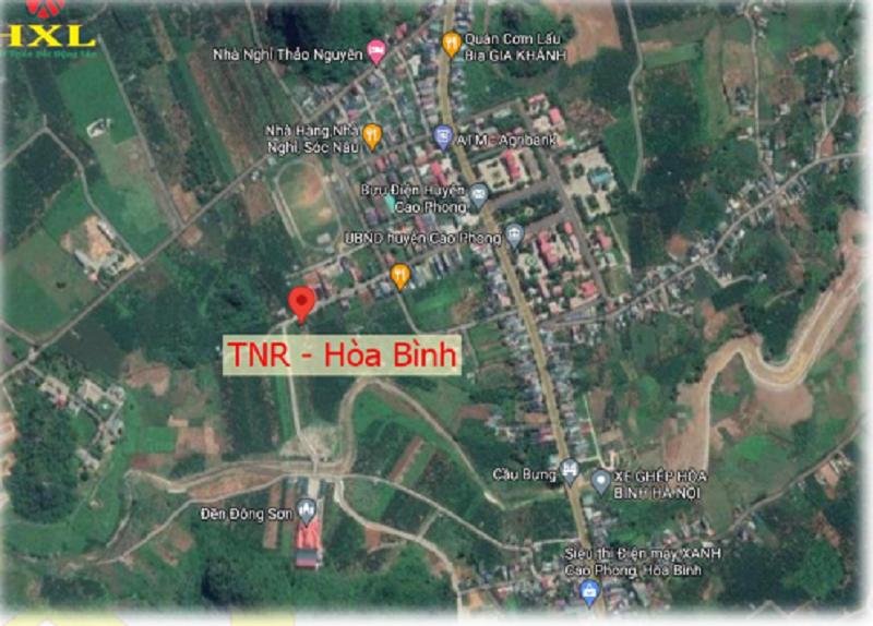 Vị trí dự án TNR Hòa Bình