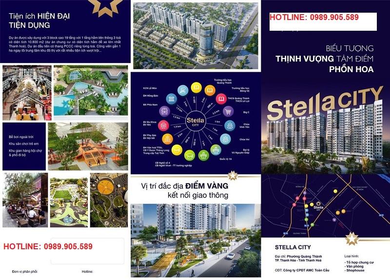 Tiện ích chung cư Stella City AMC Thanh Hóa